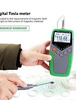 cheap -Permanent Magnet Gauss Meter Handheld Digital Tesla Meter Magnetic Flux Meter Surface Magnetic Field Test 5% Accuracy