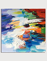 cheap -Hand Painted Canvas Oilpainting Abstract by Knife Home Decoration with Frame Painting Ready to Hang