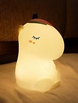 cheap -Unicorn Baby NIght Light LED Decor Light Bedside Creative Gift Home Decoration Staycation USB 1pc
