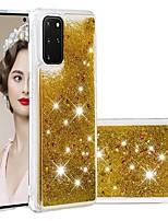 cheap -Case For Samsung Galaxy Samsung Galaxy A50s / Samsung Galaxy A30s / Samsung Galaxy A10s Flowing Liquid / Transparent Back Cover Glitter Shine TPU