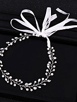 cheap -Women's Hair Jewelry For Wedding Engagement Wedding Geometrical Crystal Alloy White 1pc