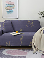 cheap -Math Print Dustproof All-powerful Slipcovers Stretch Sofa Cover Super Soft Fabric Couch Cover with One Free Pillow Case