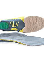 Недорогие -Вставки для обуви Стельки для бега Стельки для кроссовок Муж. Спортивные стельки Подставки для ног Амортизация Поддержка Arch Дышащий для Бег Весна, осень, зима, лето Серый / Предотвращение вони