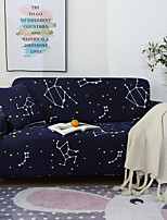 cheap -Constellation Print Dustproof All-powerful Slipcovers Stretch Sofa Cover Super Soft Fabric Couch Cover with One Free Pillow Case