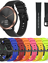 cheap -Watch Band for Vivoactive 3 / Forerunner 645 / Samsung Galaxy Watch 42mm Samsung Galaxy / Huawei Sport Band Silicone Wrist Strap