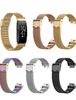 cheap -Watch Band for Fitbit Inspire HR / Fitbit Inspire Fitbit Modern Buckle Stainless Steel Wrist Strap