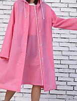 cheap -Raincoat Transparent Clear See Through Rain Coat Outdoor Waterproof Coat Cover