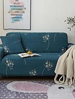Недорогие -суперсовременные чехлы с цветочным принтом, эластичные чехлы на диваны, супер мягкие тканевые чехлы с одной бесплатной наволочкой