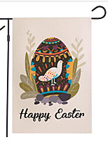cheap -Happy Easter bunny egg Holiday Decorations home flag outdoor decorative object