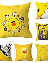 cheap -6 pcs Throw Pillow Simple Classic 45*45 cm Cushion Vintage Circle Cover Sofa Home Decor Throw Pillow Case