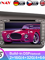 cheap -ZWNAV 7inch 2din 4GB 64GB Android 9 Car DVD player GPS navigation car Multimedia Player auto radio tape recorder radio Stereo For Honda Civic 2012-2015