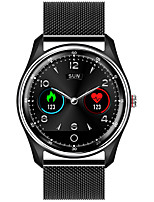 cheap -M9 Unisex Smartwatch Android iOS Bluetooth Heart Rate Monitor Blood Pressure Measurement Sports Long Standby Exercise Record Timer Stopwatch Pedometer Call Reminder Sleep Tracker