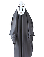 cheap -Inspired by Spirited Away No Face man Anime Cosplay Costumes Japanese Cosplay Suits Coat Gloves Mask For Men's Women's