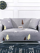 cheap -Forest Deer Print Dustproof All-powerful Slipcovers Stretch Sofa Cover Super Soft Fabric Couch Cover with One Free Pillow Case