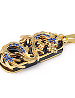 cheap -LITBest Metal Dragon Blue Diamond 32GB USB Flash Drives USB 2.0 Creative For Car