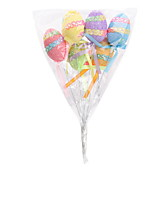 cheap -Happy Easter egg Holiday Decorations home restaurant bar decorative