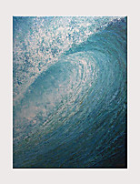cheap -Painting Modern Canvas Wall Art Hand-Painted Decorative Waves Suitable for The Living Room Bathroom Bedroom