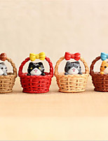 cheap -Dollhouse Cute Creative Stress and Anxiety Relief Cat Plastic Shell Cartoon 4 pcs Child's All Toy Gift