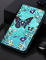 cheap -Case For Samsung Galaxy S9 / S9 Plus / S8 Plus Wallet / Card Holder / Rhinestone Full Body Cases Butterfly PU Leather for Galaxy S20 PLUS S20 ULTRA S20 A51 A71 A50 A40 A30 A20 A10S NOTE10 J4 PLUS
