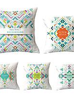 cheap -5 pcs Throw Pillow Simple Classic 45*45 cm Cushion Vintage Circle Cover Sofa Home Decor Throw Pillow Case