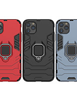 cheap -Case For Apple scene map iPhone 11 11 Pro 11 Pro Max Iron Man series invisible ring stand PC TPU 2-in-1 armor anti-fall phone case