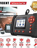 cheap -VIDENT iLink400 Full System Scan Tool Single Make Support Code Reader OBDII ABS SRS EPB DPF Engine Transmission etc with Service Light Reset Func