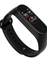cheap -M4 Unisex Smart Wristbands Android iOS Bluetooth Heart Rate Monitor Blood Pressure Measurement Sports Long Standby Exercise Record Timer Stopwatch Pedometer Call Reminder Sleep Tracker