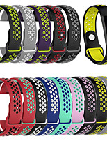 cheap -Watch Band for Fitbit charge3 Fitbit Sport Band Silicone Wrist Strap