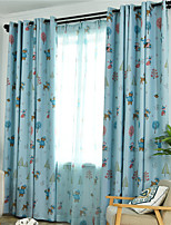 cheap -Gyrohome 1PC Christmas Animal Tree Shading High Blackout Curtain Drape Window Home Balcony Dec Children Door *Customizable* Living Room Bedroom Dining Room