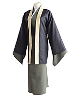 cheap -Inspired by Bungo Stray Dogs Fukuzawa Yukichi Anime Cosplay Costumes Japanese Cosplay Suits Cloak Kimono Coat Sash / Ribbon For Men's