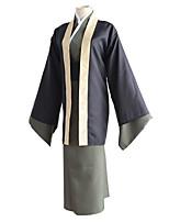 cheap -Inspired by Bungo Stray Dogs Fukuzawa Yukichi Anime Cosplay Costumes Japanese Cosplay Suits Cloak Kimono Coat Sash / Ribbon For Men's