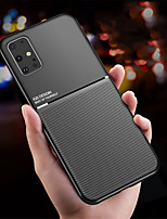 cheap -Magnetic Car Phone Case for Samsung Galaxy S20 S20 Plus S20 Ultra Magnet Plate Shockproof Hybrid Silicone S10 S10E S10 Plus S9 S9 Plus A10 A20 A30 A50 A70 A30S A50S A70S Note 10 Note 10 Plus
