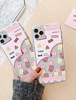 cheap -Case for Apple scene map iPhone 11 11 Pro 11 Pro Max cartoon pattern high transparent thick TPU material airbag anti-fall all-inclusive mobile phone case
