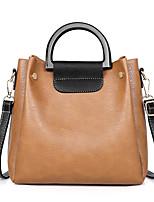cheap -Women's Sequin PU Bag Set Striped 3 Pcs Purse Set Black / Brown / Blushing Pink
