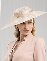 cheap -Net Hats with Lace / Printing / Hollow-out 1 Piece Daily Wear Headpiece