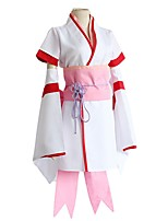 cheap -Inspired by Re:Zero Starting Life in Another World kara hajimeru isekai seikatsu Rem Anime Cosplay Costumes Japanese Cosplay Suits Top Skirt Bow For Men's Women's / Rope / Sash / Ribbon