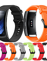 cheap -Watch Band for Gear Fit Pro R365 / Gear Fit 2 R360 Samsung Classic Buckle Silicone Wrist Strap