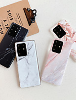 cheap -Case for Samsung scene map Samsung Galaxy S20 S20 Plus S20 Ultra A51 A71 retro marble pattern frosted TPU material IMD process all-inclusive mobile phone case XQS