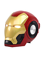 cheap -LITBest Iron Man Wireless Bluetooth Speaker Cartoon Portable outdoors Bass Wireless Mini Robot speaker Support TF card