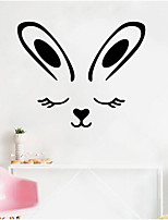 cheap -Bunny Easter Decorative Wall Stickers - Plane Wall Stickers Holiday Indoor