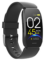 cheap -C117 Unisex Smart Wristbands Android iOS Bluetooth Waterproof Heart Rate Monitor Blood Pressure Measurement Distance Tracking Information Pedometer Call Reminder Activity Tracker Sleep Tracker