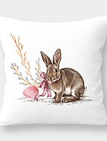 cheap -Easter Cartoon Rabbit Pillow Case Digital Print Sofa cushion pillow case