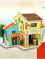 cheap -Dollhouse DIY Simulation Parent-Child Interaction Furniture Wooden 1 pcs Child's Adults' All Toy Gift