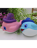 cheap -1 Squeeze Toy / Sensory Toy Slow Rising Stress Reliever Dolphin Stress and Anxiety Relief Decompression Toys Kawaii Resin 1 pcs Child's Adults' All Toy Gift