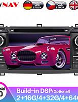 cheap -ZWNAV 7inch 2din 4GB 64GB DSP Android 9 Car DVD player Car GPS navigation Auto Satnav Car Multimedia Player recoder Stereo For Toyota Auris 2013-2015