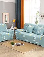 Недорогие -мультфильм погода печать пылезащитный всесильный чехлы на диван эластичный чехол для дивана супер мягкая ткань чехол с одной бесплатной наволочкой