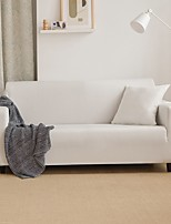 cheap -Nordic Simple Solid Color Elastic Sofa Cover Full Package Single Double Three Person Sofa Cover white