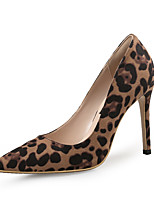 cheap -Women's Heels Print Shoes Stiletto Heel Pointed Toe Suede Business / Vintage Spring &  Fall / Spring & Summer Leopard / Party & Evening / Party & Evening