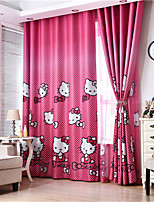 cheap -Gyrohome 1PC Red Cats Shading High Blackout Curtain Drape Window Home Balcony Dec Children Door *Customizable* Living Room Bedroom Dining Room