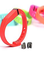 Недорогие -Ремешок для часов для Fitbit Flex Fitbit Классическая застежка TPE Повязка на запястье
